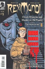 Rex Mundi #13 (2008) Dark Horse comic book